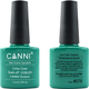 Canni Nail Art Color Coat 076 Dark Emerald
