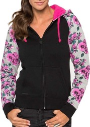 METAL MULISHA CHELSEA FLEECE JET BLACK