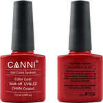 Canni Nail Art Color Coat 104 Rust Red
