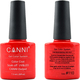 Canni Nail Art Color Coat 110 Cinnabar Red