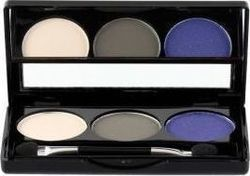 Manhattan Blogger's Choice Trio Eyeshadow 1 Concrete Walk