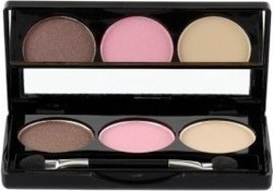 Manhattan Blogger's Choice Trio Eyeshadow 3 Downtown To Earth
