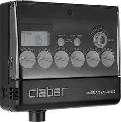 Claber Multipla AC 230/24 V LCD