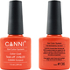 Canni Nail Art Color Coat 136 Orange Red