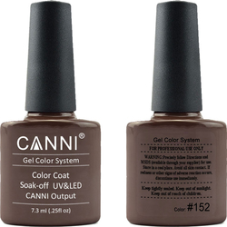 Canni Nail Art Color Coat 152 Nut Brown