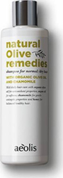 Aeolis Shampoo for Normal/Dry Hair With Organic Olive Oil & Chamomile 300ml