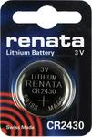 Renata Lithium Battery CR2430 (1τμχ)