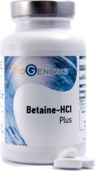 Viogenesis Betaine HCL Plus 125 ταμπλέτες