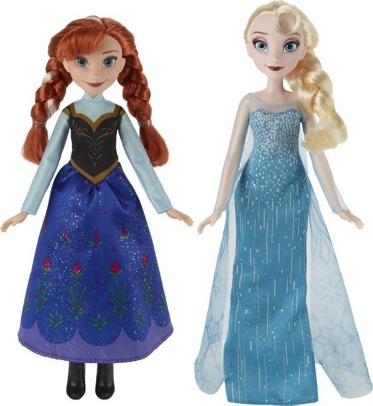 37561f1f46 Προσθήκη στα αγαπημένα menu Hasbro Disney Frozen Classic Doll - 2 Σχέδια