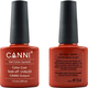 Canni Nail Art Color Coat 154 Tomato Red