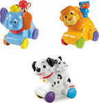 Fisher Price Ζωάκια Disney Roll `n` Go