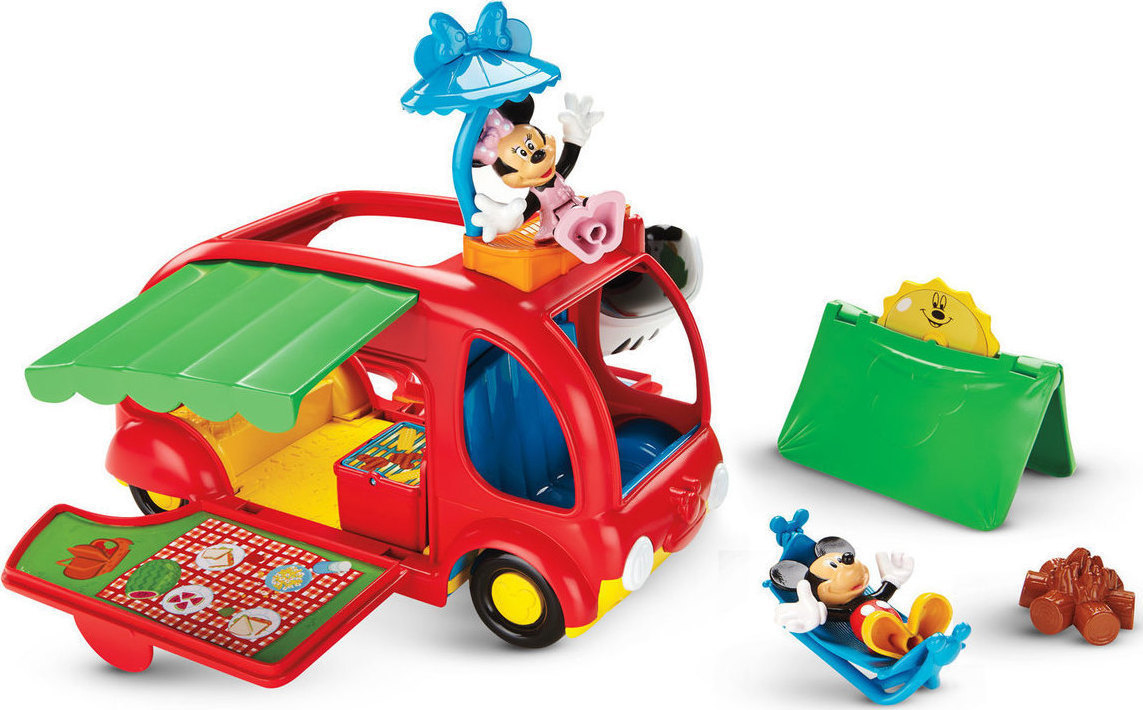 f9a526125b5 Προσθήκη στα αγαπημένα menu Fisher Price Mickey Mouse Clubhouse - Cruisin'  Camper