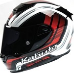 Kabuto RT33 Glodis White/Red