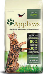 Applaws Adult Cat Chicken with Extra Lamb 0.4kg