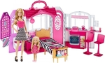 Mattel Barbie Glam House Value Pack with 2 Dolls