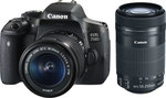 Canon EOS 750D Kit (18-55 IS STM) & (55-250 IS STM)