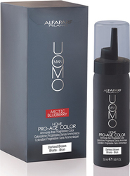 Alfaparf Milano Uomo Man Kit Home Pro-Age Color Darkest Brown