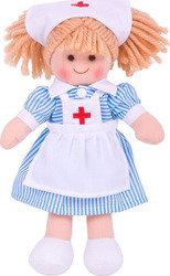Big Jigs Nurse Nancy 28cm Doll