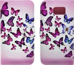 Ancus Book Art Collection Butterfly (Galaxy S6)