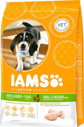 Iams Puppy & Junior Small and Medium Breed Rich in Chicken 3kg