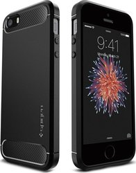 Spigen Rugged Armor Black (iPhone 5/5s/SE)