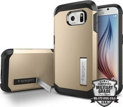 Spigen Tough Armor Champagne Gold (Galaxy S6)
