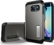 Spigen Tough Armor Gunmetal (Galaxy S6 Edge)