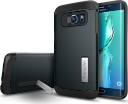 Spigen Slim Armor Metal Slate (Galaxy S6 Edge Plus)