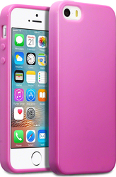 Terrapin Silicone Back Cover Pink (iPhone 5/5s/SE)