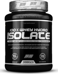 XCore 100% Whey Hydro Isolate SS 900gr Βανίλια