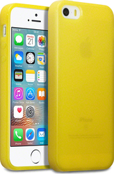 Terrapin Silicone Back Cover Yellow (iPhone 5/5s/SE)