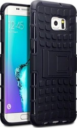 Terrapin Impact Resistant Rugged Armour Black (Galaxy S6 Edge Plus)