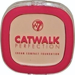 W7 Cosmetics Catwalk Perfection Cream Compact foundation beige 6gr
