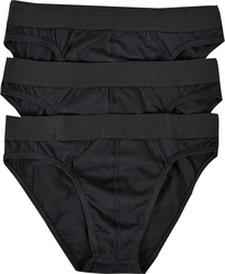 Jepa MEN'S BRIEF 3 PACK 271404 - ΜΑΥΡΟ