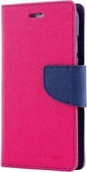 Mercury Fancy Diary Hot Pink / Navy (Galaxy S6 Edge)