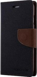 Mercury Fancy Diary Black/Brown (iPhone 5s)