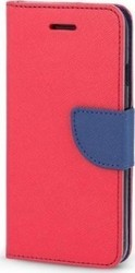 OEM Fancy Diary Samsung Galaxy S5 Red / Navy