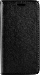 iSelf Leather Stand Book Samsung J3 2016 Black Magnetic Closure