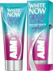 AIM White Now Glossy Chic Instant White 1+1 Δώρο 2 x 50ml