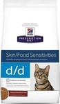 Hill's Prescription Diet d/d Feline Venison & Green Pea Formula 1.5kg