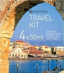 Bodyfarm Travel Set Vanilla/Milk & Olive Oil