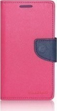 Mercury Fancy Diary Samsung Galaxy A3 2016 Hot Pink / Navy