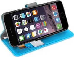 Orzly Multifunctional Wallet Case for Blue (iPhone 6/6s Plus)