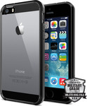 Spigen Ultra Hybrid για Apple iPhone 5S/5 Black