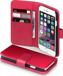 Terrapin Genuine Leather Wallet Red (iPhone 6/6S)