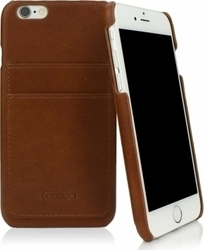 CASEual Leather Back Italian Brown (iPhone 6/6s)