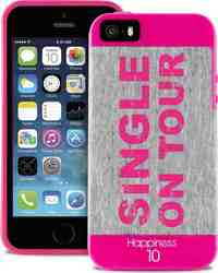 "Puro Happiness Jersey ""Single on tour"" Pink (iPhone 5/5s/SE)"