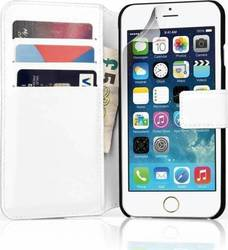 YouSave Accessories Leather-effect Wallet Case White (iPhone 6/6s)
