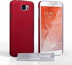 YouSave Accessories Hard Hybrid Case Red (Galaxy S6)