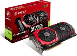 MSI GeForce GTX1060 3GB (GTX 1060 GAMING X 3G)
